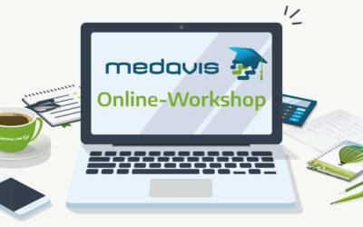 medavis Online-Workshop Privatliquidation und Statistik