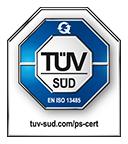 ISO13485 Prüfsiegel