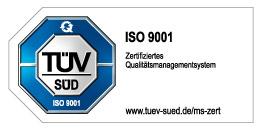 ISO 9001 Prüfsiegel