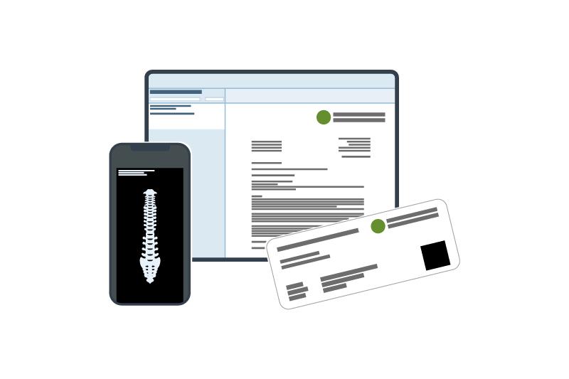Icon portal4med Patientenportal